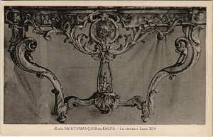 CPA École St-FRANCOIS-de-SALES - La crédence Louis XIV (115538)