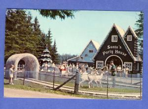 Jefferson, New Hampshire/NH Postcard, Santa's Village/House