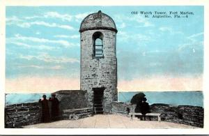Florida St Augustine Fort Marion Old Watch Tower 1920