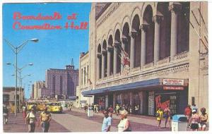 Boardwalk At Conventional Hall, Atlantic City, New Jersey, 40-60s