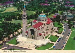 National Shrine of Immaculate Conception - Church - Washington, DC - pm 1976