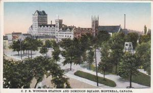 C.P.R. Windsor Station and Dominion Square, Montreal,  Canada, 00-10s