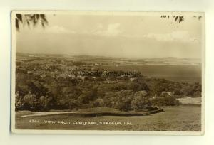 h0529 - Shanklin from Cowlease , Isle of Wight - postcard by Nigh