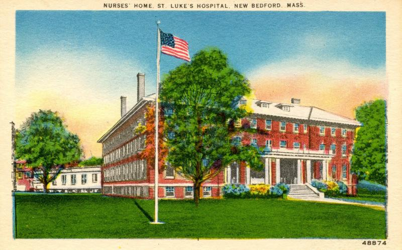 MA - New Bedford. Nurses' Home, St Luke's Hospital