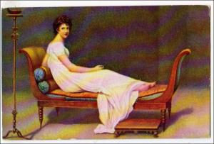 Woman on a Couch, Madame Recamier
