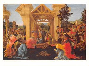 Adoration of the Magi - Botticelli