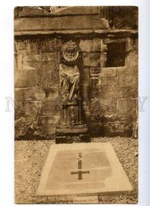 177913 UK SCOTLAND Tomb Michael Scott Melrose Abbey old