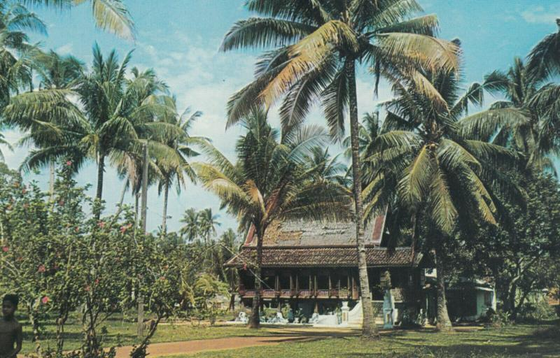 MALACCA , Malaysia , 50-60s ; Malay Kampong