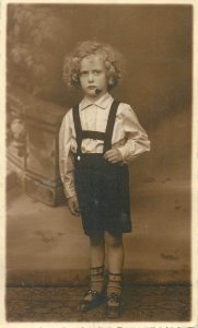 Postcard Social history young child 1938