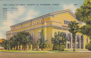 First Church Of Christ Scientist St Petersburg Florida 1942