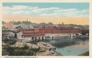 GLENS FALLS , New York , 1900-10s ; Finch Pruyn Paper Company