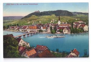 Schloss Hohenklingen Stein am Rhein Switzerland Postcard PZ
