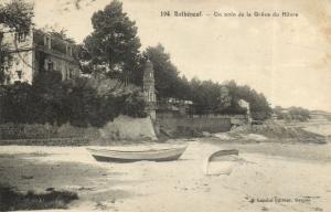 CPA Rothéneuf - Un coin de la Gréve du Havre (112014)