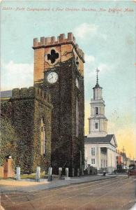 25692 MA, New Bedford, 1907, North Congregational and First Christian Churche...