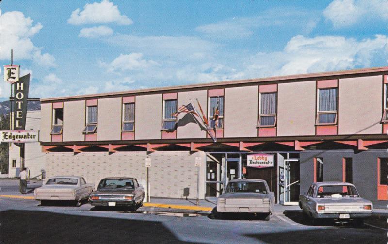 WHITEHORSE, Yukon, Canada, 1940-1960's; Edgewater Hotel, Classic Cars