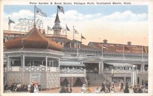 Nantasket Beach MA Dansant Tea Dance~Cabaret Show~Schlitz Beer Palm Gardens 1923