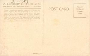 IL - Chicago. 1933 World's Fair-Century of Progress. Model of the Nikko Distr...