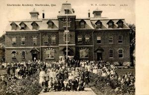 Canada - Quebec, Sherbrooke. Sherbrooke Academy, 1906
