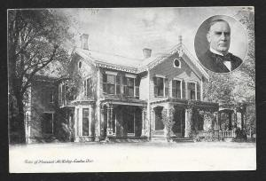 McKinley's House Canton OH used c1906