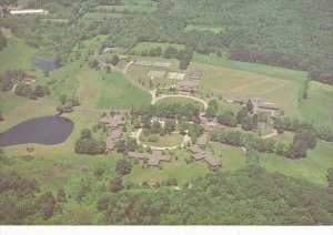 Aerial View Hill Campus Kent School Kent Connecticut