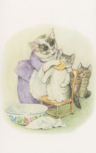 The Tale Of Tom Kitten 1907 Beatrix Potter Book Postcard