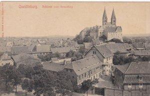Germany Quedlinburg Schloss Panorama sk3836
