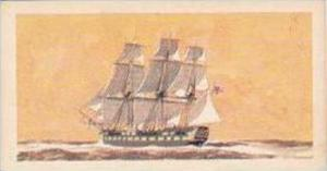 Brooke Bond Vintage Trade Card Saga Of Ships 1970 No 20 An East Indiaman