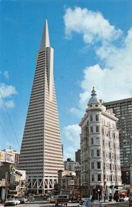 USA Transamerica's Pyramid S.F. Skyline Cars Voitures