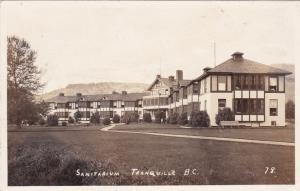RP: TRANQUILLE, British Columbia, Canada, 1920-1940s; Sanitarium