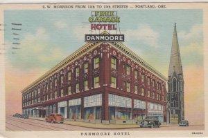 PORTLAND , Oregon , 1930-40s ; Danmoore Hotel