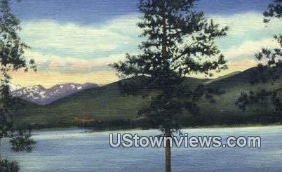 Shadow Mountain Lake Hippostcard