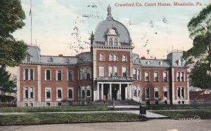 MEADVILLE, Pennsylvania, 1910, Crawford Co. Court House