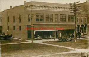 IN, Fremont, Indiana, RPPC, Reese's General Store, Department Store, Photo
