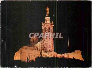 Modern Postcard Marseille Notre Dame Garda