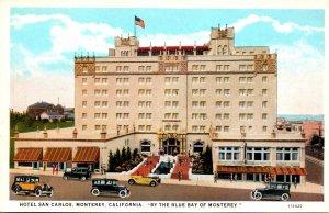 California Monterey Hotel San Carlos Curteich
