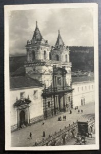 Mint Ecuador Real Picture Postcard Quito Cathedral 1926