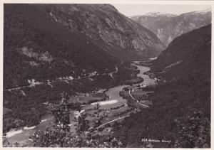 Photograph, Bird´s Eye View, Ronsdal Valley, Norway, 1920-1940s