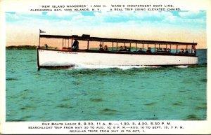 New York Thousand Island Alexandria Bay New Island Wanderer Ward's Indep...