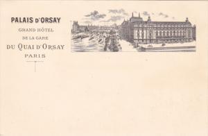 PARIS , France , 00-10s : Palais D'Orsay Grand Hotel