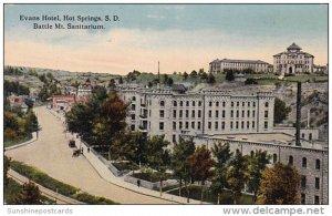 Battle Mount Sanitarium Evans Hotel Hot Springs South Dakota