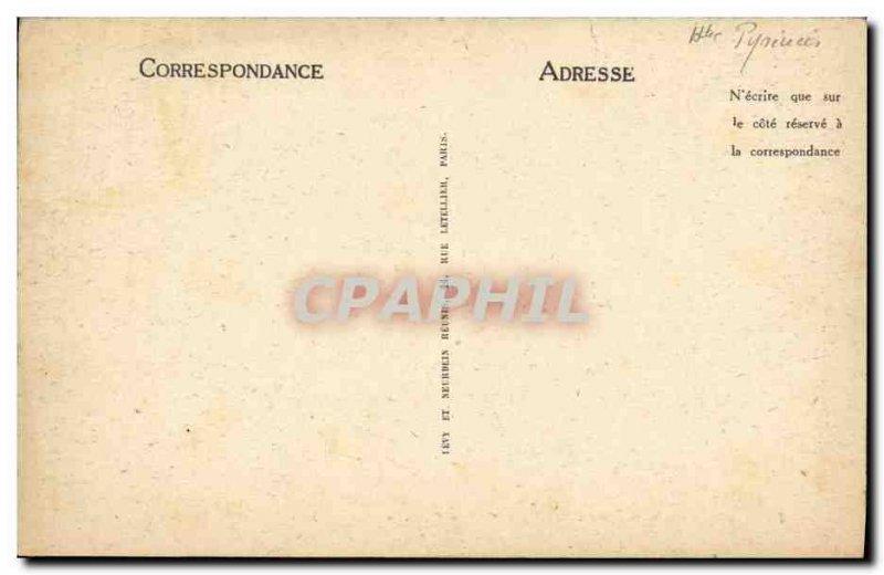 Old Postcard Lourdes Observatory Pic du Jer