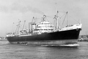 mc3894 - Peruvian Cargo Ship - Rio Santa , built 1957 ex Silverfell - photo 6x4
