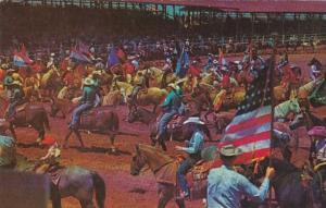 Texas Fort Worth Rodeo Scene