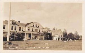 Maine Greenville Junction Squaw Mt Inn 1932 Real Photo RPPC