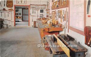 Old Vintage Shaker Post Card Carpentry Shop, The  Museum Old Chatham, New Yor...