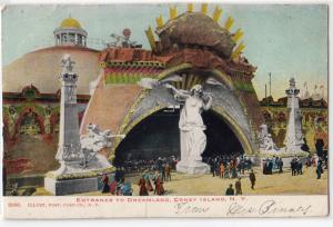 Entrance to Dreamland, Coney Island NY