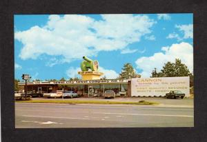 NC Cannon Towels Doxol Propane Gas Store Southern Pines North Carolina  Postcard