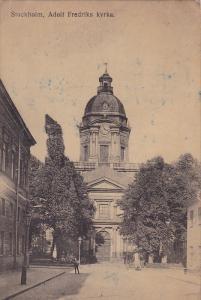 Stockholm , Adolf Fredriks kyrka , Sweden , PU-1920