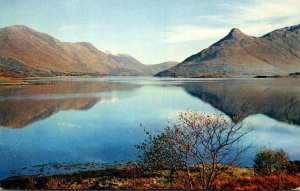 Scotland Argyll Loch Leven and The Pap Of Glencoe