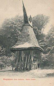 SINGAPORE (New Guinea), 00-10s; Native House